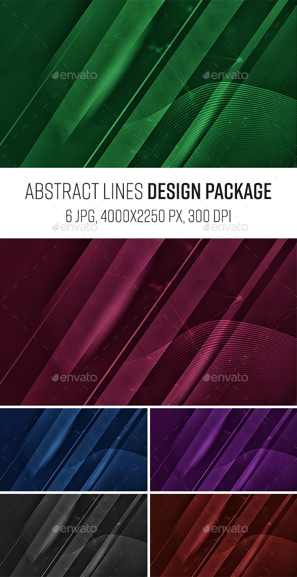 Modern Abstract Background Design - Abstract Backgrounds