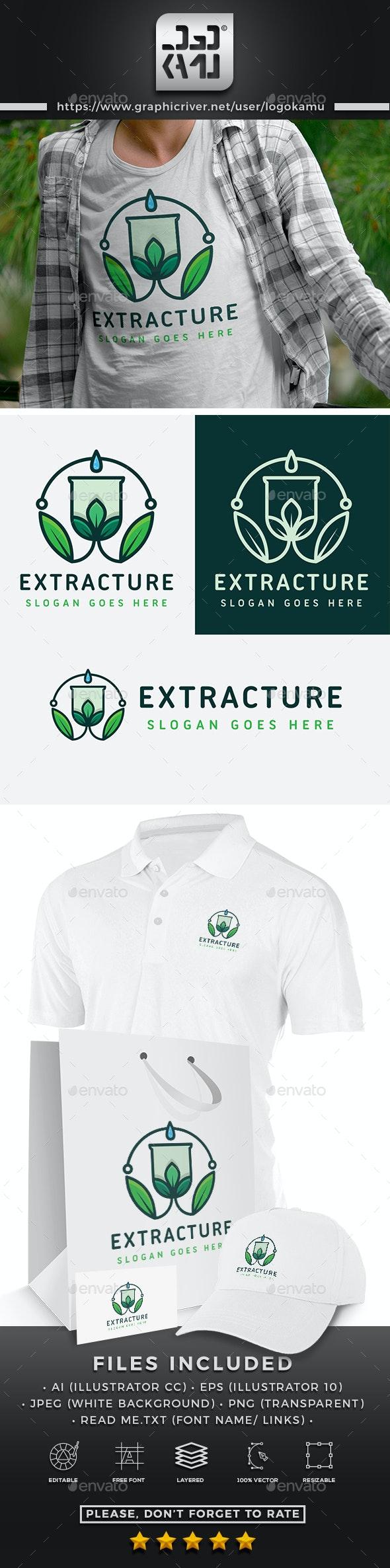 Extract Nature Logo - Nature Logo Templates