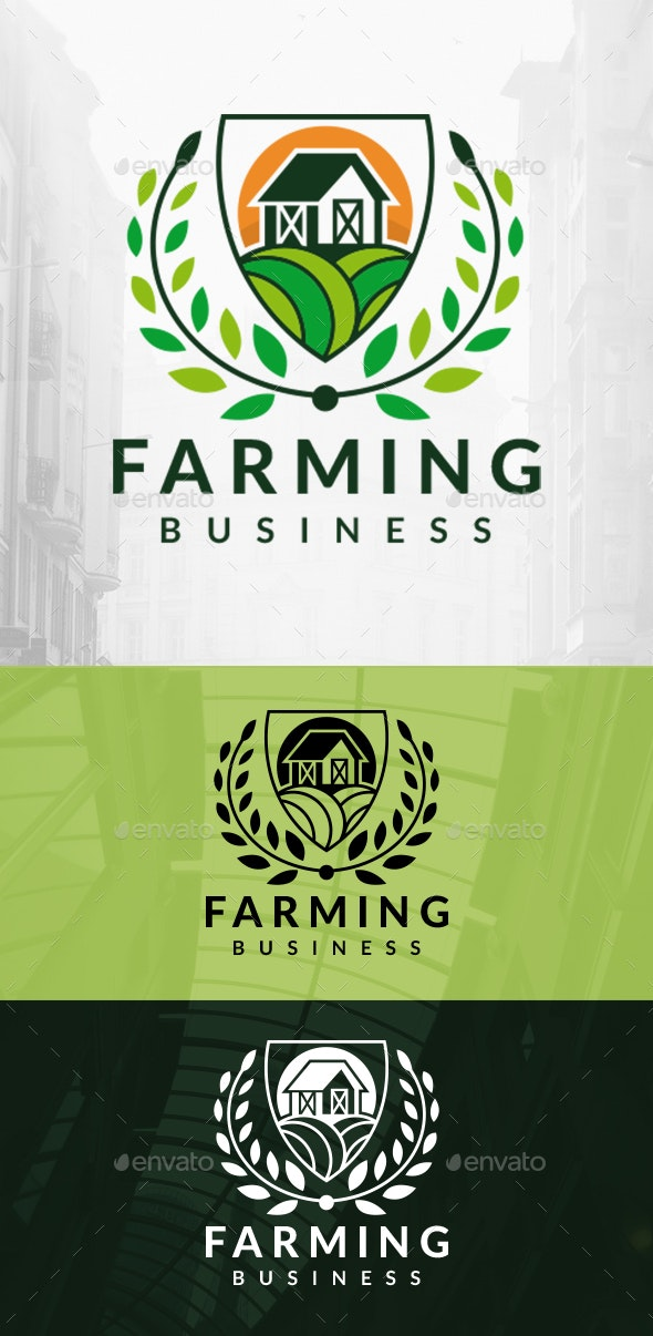 Royal Farming Logo - Buildings Logo Templates