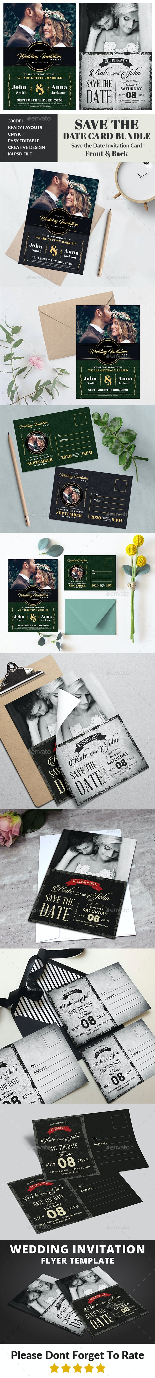 Wedding Invitation Card Bundle - Weddings Cards & Invites