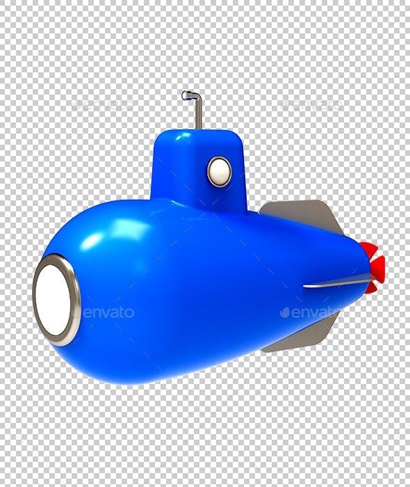 Submarine - Technology 3D Renders