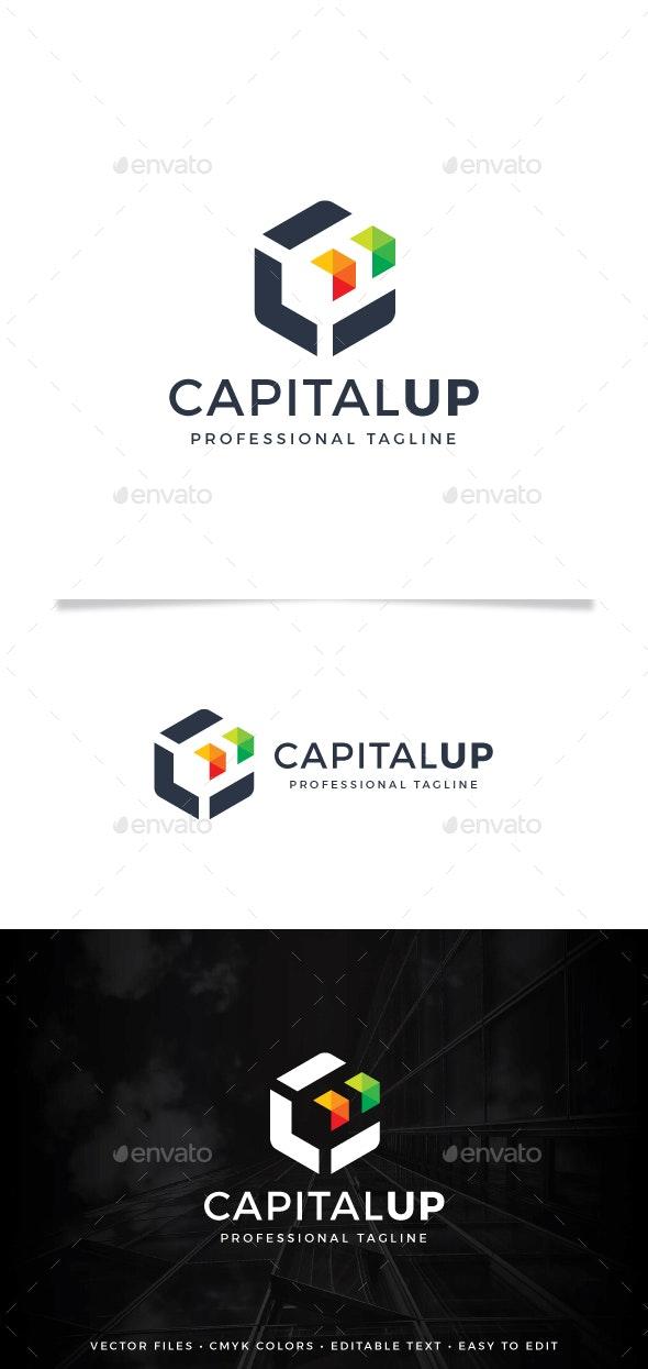Capital Up Logo - Abstract Logo Templates