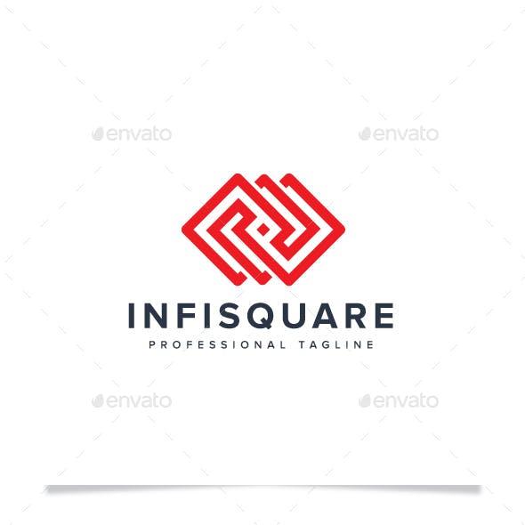 Infinity Square Logo