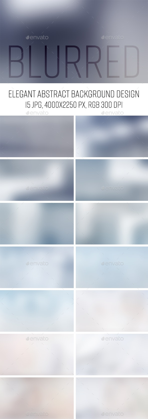 Elegant Blur Backgrounds - Abstract Backgrounds
