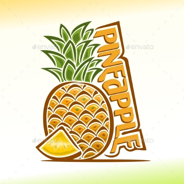 Vector Pineapple - Food Objects