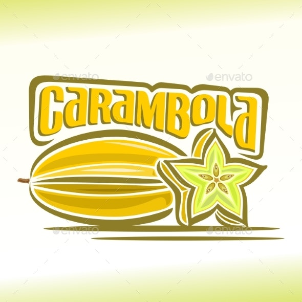 Vector Carambola - Food Objects