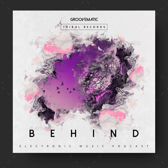 Behind - Music Album Cover Artwork Template