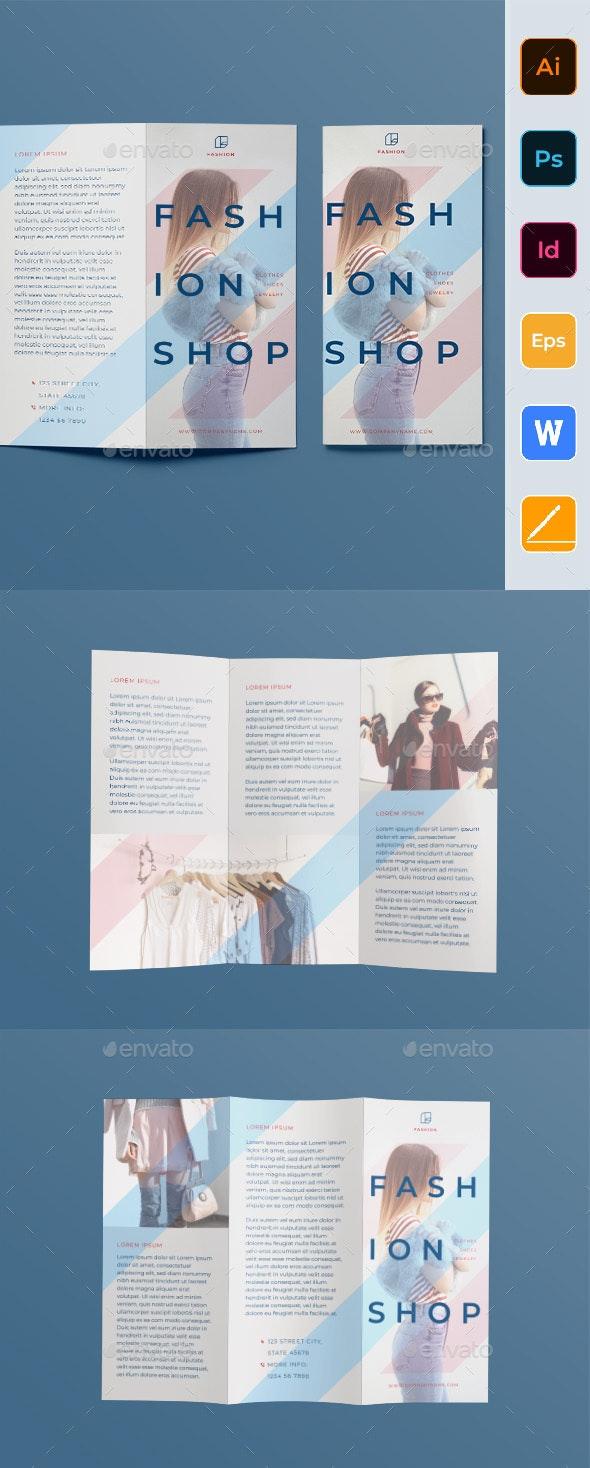 Fashion-Shop Trifold Brochure - Corporate Brochures