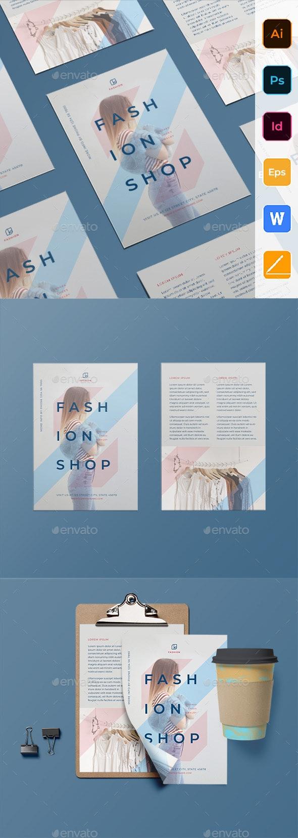 Fashion-Shop Flyer - Corporate Flyers