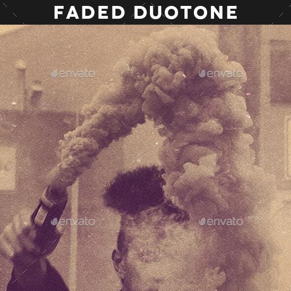 Faded Duotone