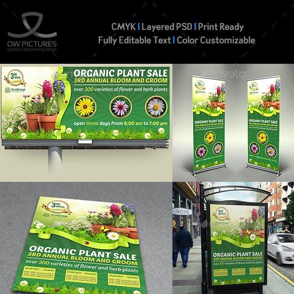 Plant Sale Show Advertising Bundle