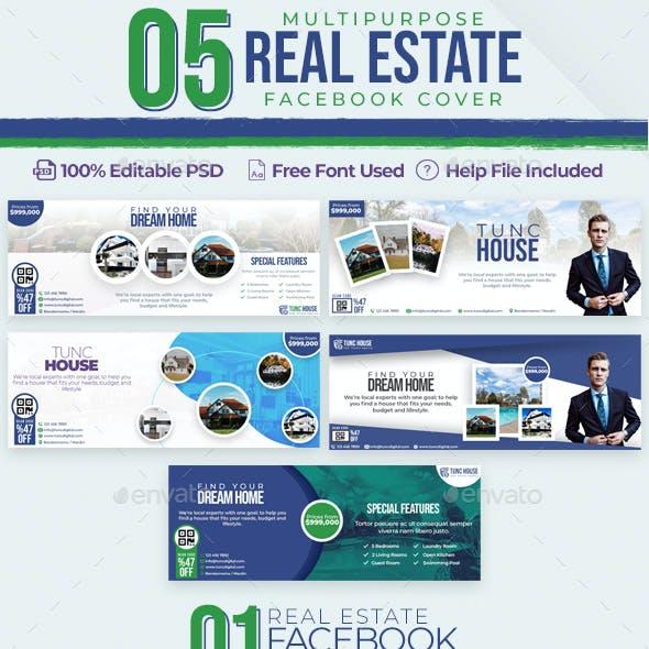 Real Estate 05 Facebook Cover