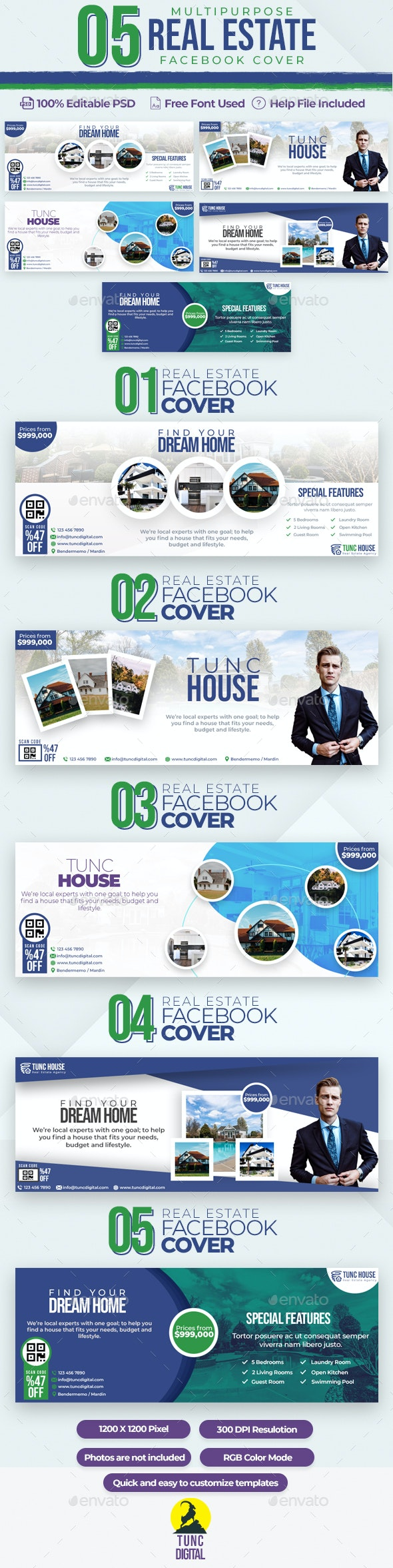Real Estate 05 Facebook Cover - Facebook Timeline Covers Social Media