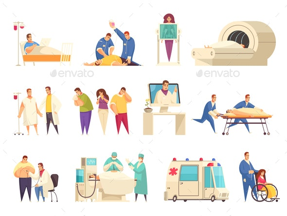 Medical Icon Set - Miscellaneous Vectors