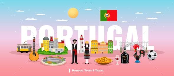 Portugal Tourism Concept - Nature Conceptual