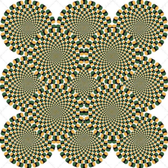 Optical Illusion - Abstract Conceptual
