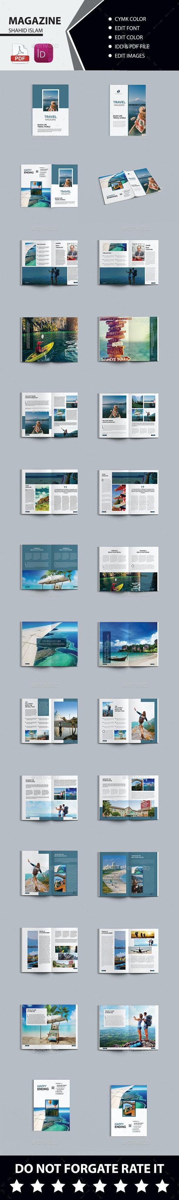 Bundle Travel Magazine - Magazines Print Templates