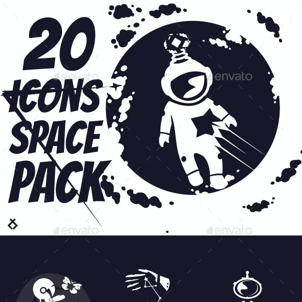 20 Space Icons