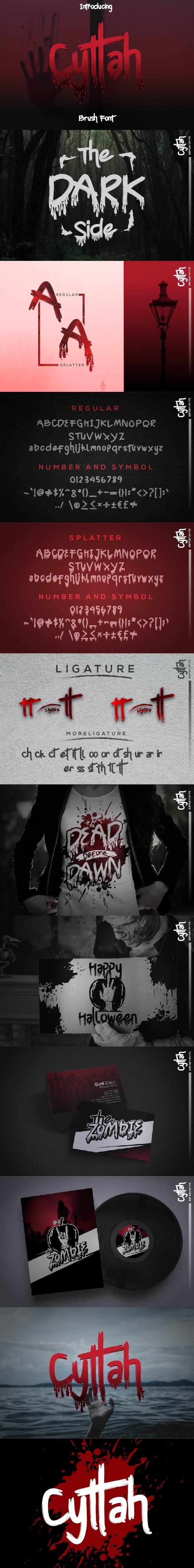 Cyttah Graffiti - Graffiti Fonts