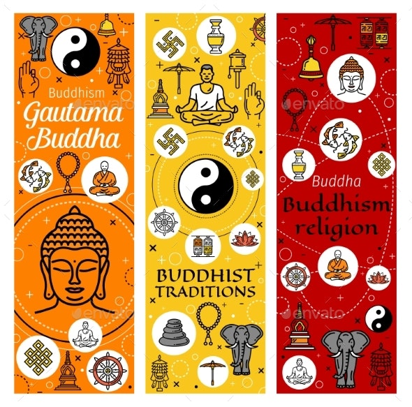 Buddhism Mediation and Buddhist Traditions - Religion Conceptual