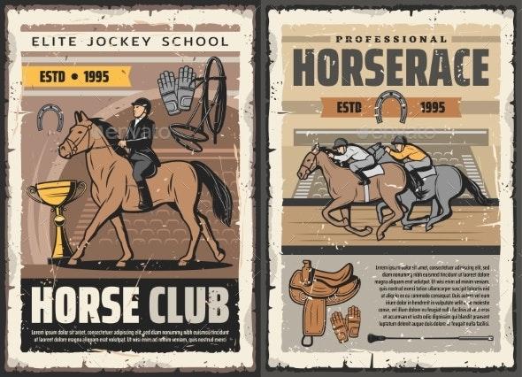 Elite Jockey School - Sports/Activity Conceptual
