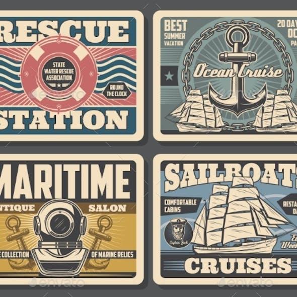 Marine Antique Salon, Sailboat Ocean Cruises