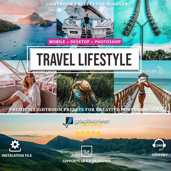 10 Travel & Lifestyle Lightroom Presets
