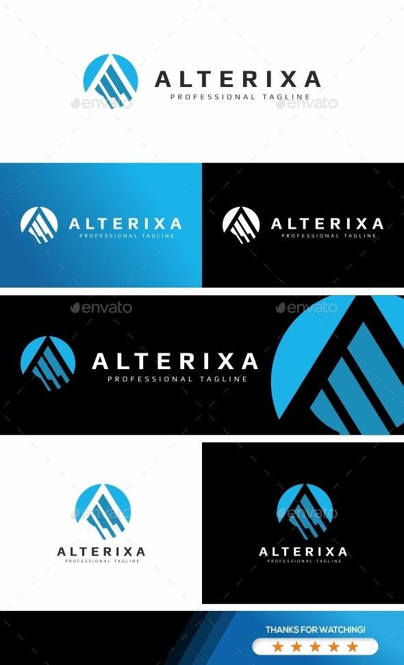 Letter A - Alterixa Logo - Letters Logo Templates