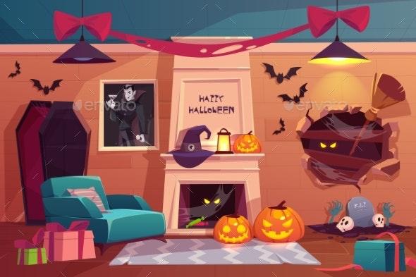 Halloween Interior - Halloween Seasons/Holidays