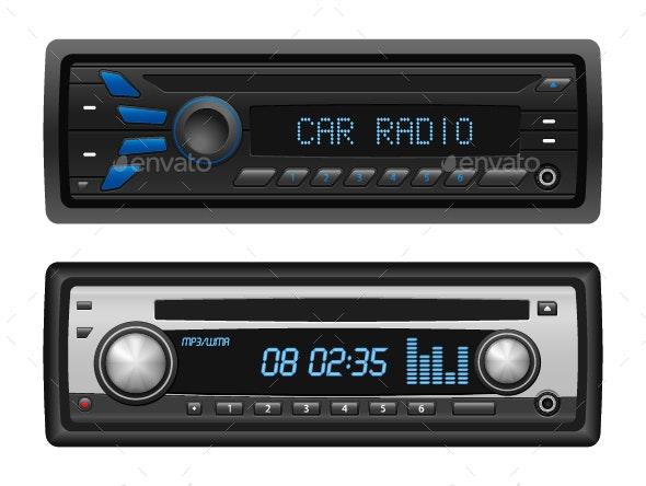 Car Radio Set - Media Technology