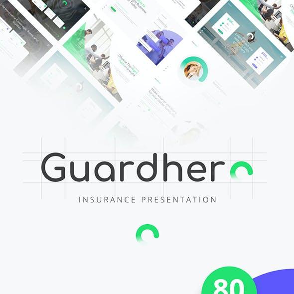Guardhero Insurance Keynote Template