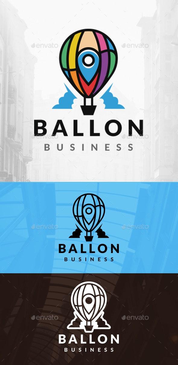 Balloon Locator Logo - Company Logo Templates