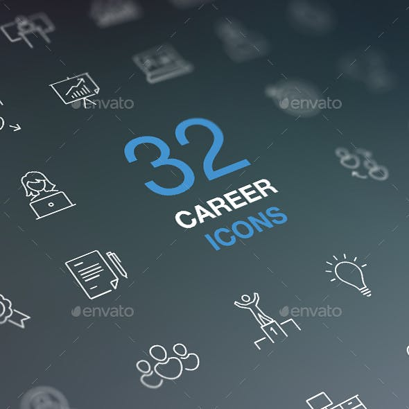 Job Search, Work, Career, Success Concept.