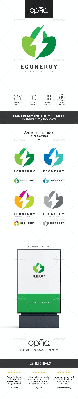 Green Ecological Energies Logo - Symbols Logo Templates