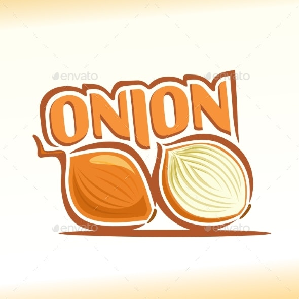 Vector Onion - Food Objects