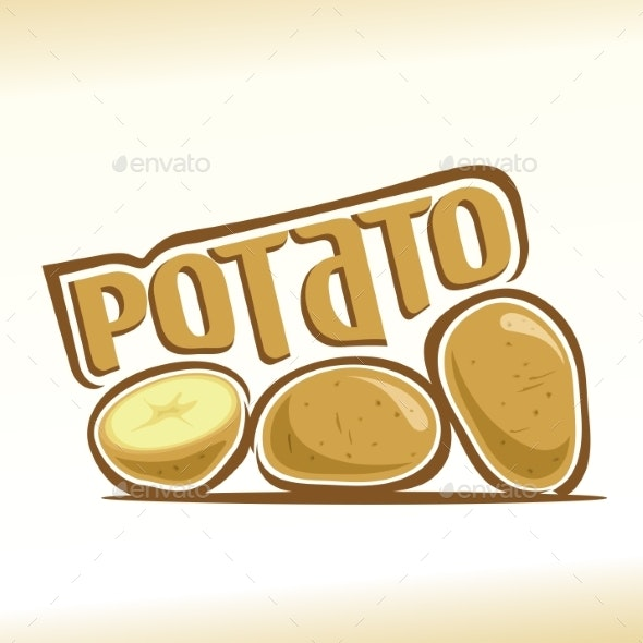 Vector Potato - Food Objects