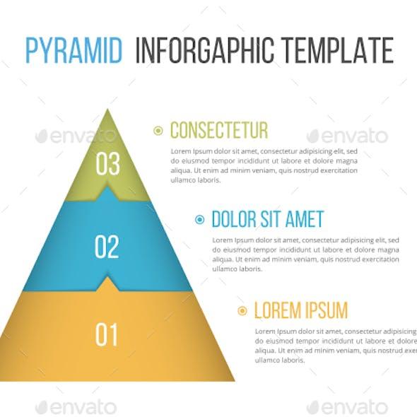 Pyramid with Three Elements