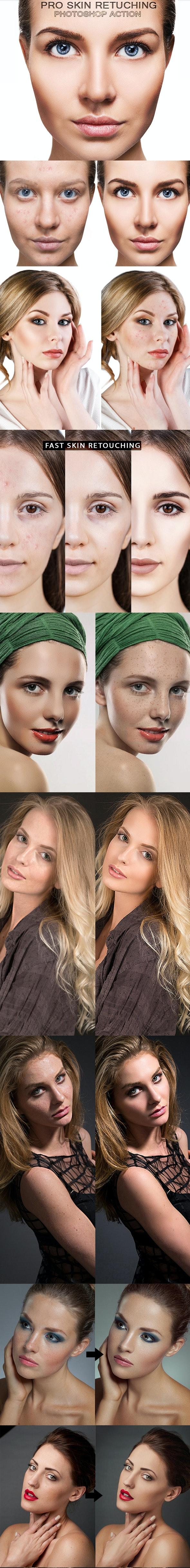 PRO Skin Retouching - Actions Photoshop