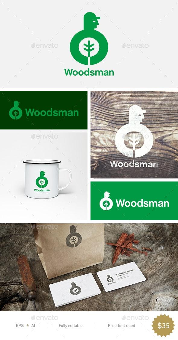 Woodsman - Humans Logo Templates