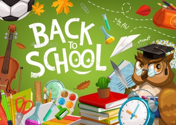 Back To School - Backgrounds Decorative