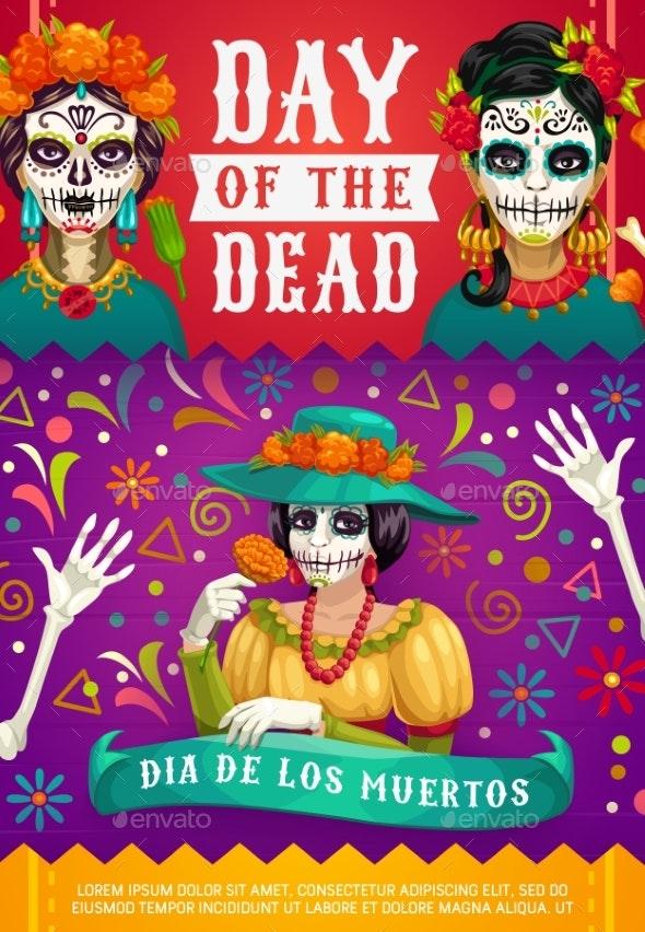 Mexican Dia De Los Muertos - Miscellaneous Seasons/Holidays