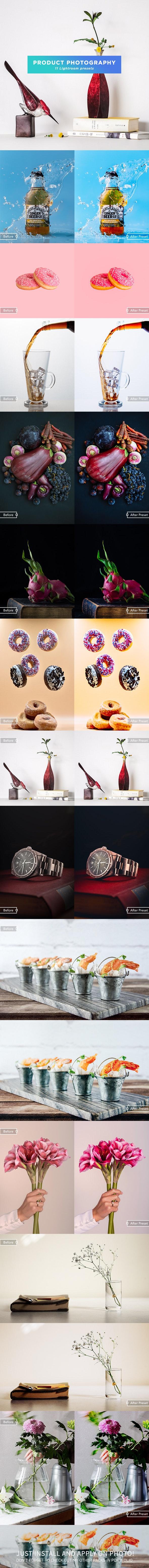 11 Product Photography Lightroom Presets - Lightroom Presets Add-ons