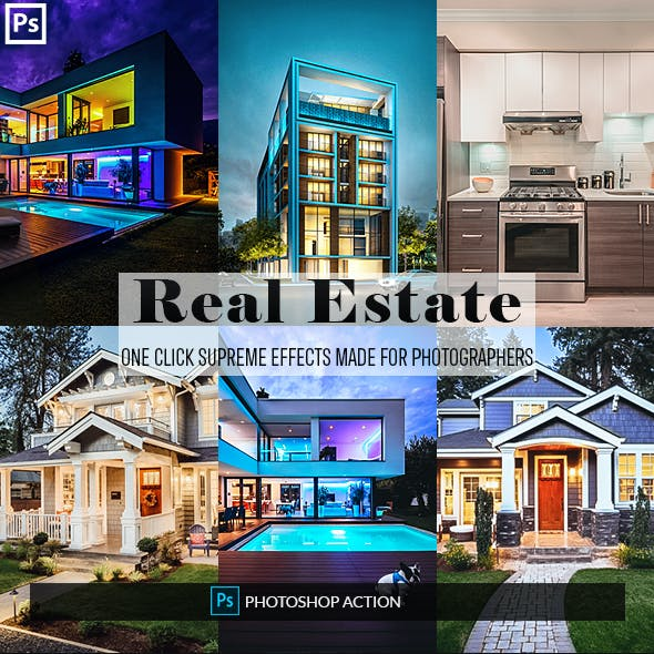 Real Estate Photoshop Actions 2
