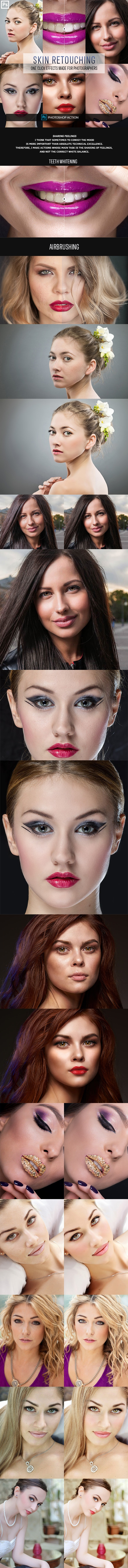 Easy Skin Retouch Photoshop Actions 2 - Actions Photoshop