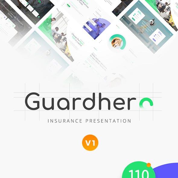 Guardhero Insurance PowerPoint Template