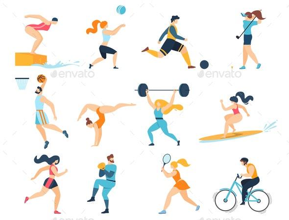 Professional Sport Activities - Sports/Activity Conceptual