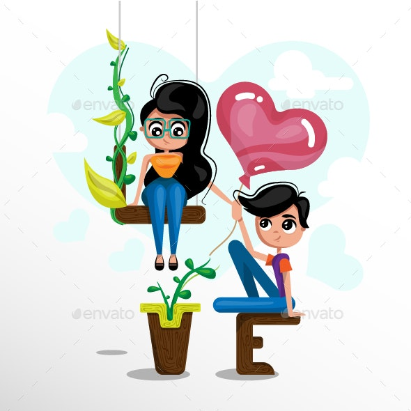 Love and Friendship - Valentines Seasons/Holidays