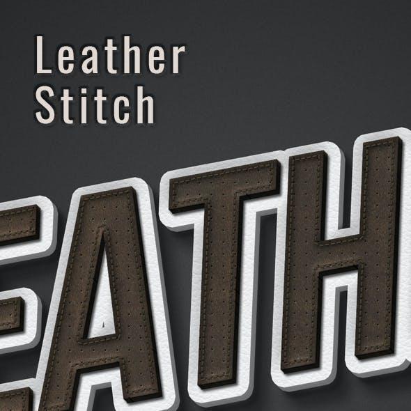 Leather Stitching Effect Creator