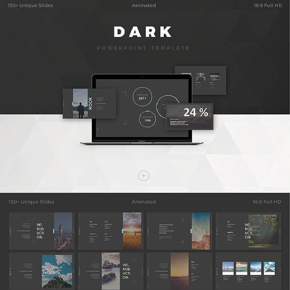 Darkness - Powerpoint Template