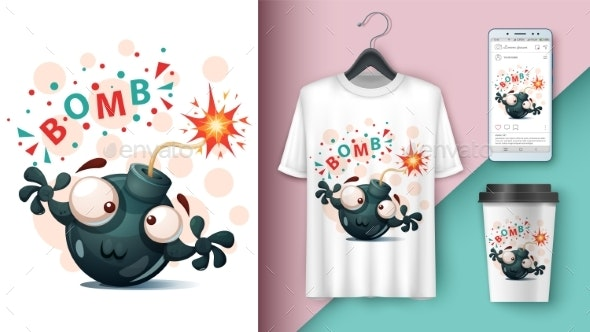 Bomb - Mockup for Your Idea - Miscellaneous Characters